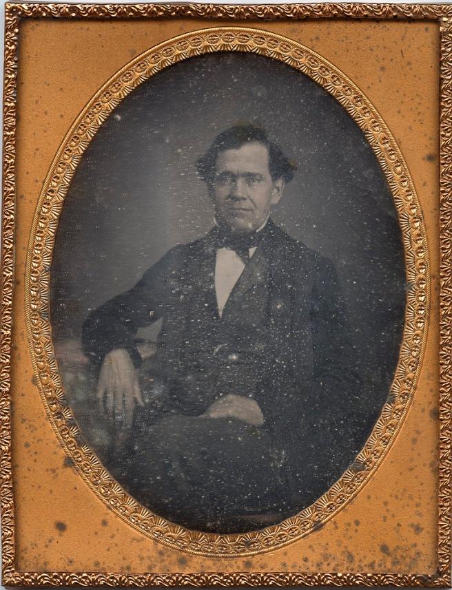 Anonymous Gentleman - half-plate Daguerreotype